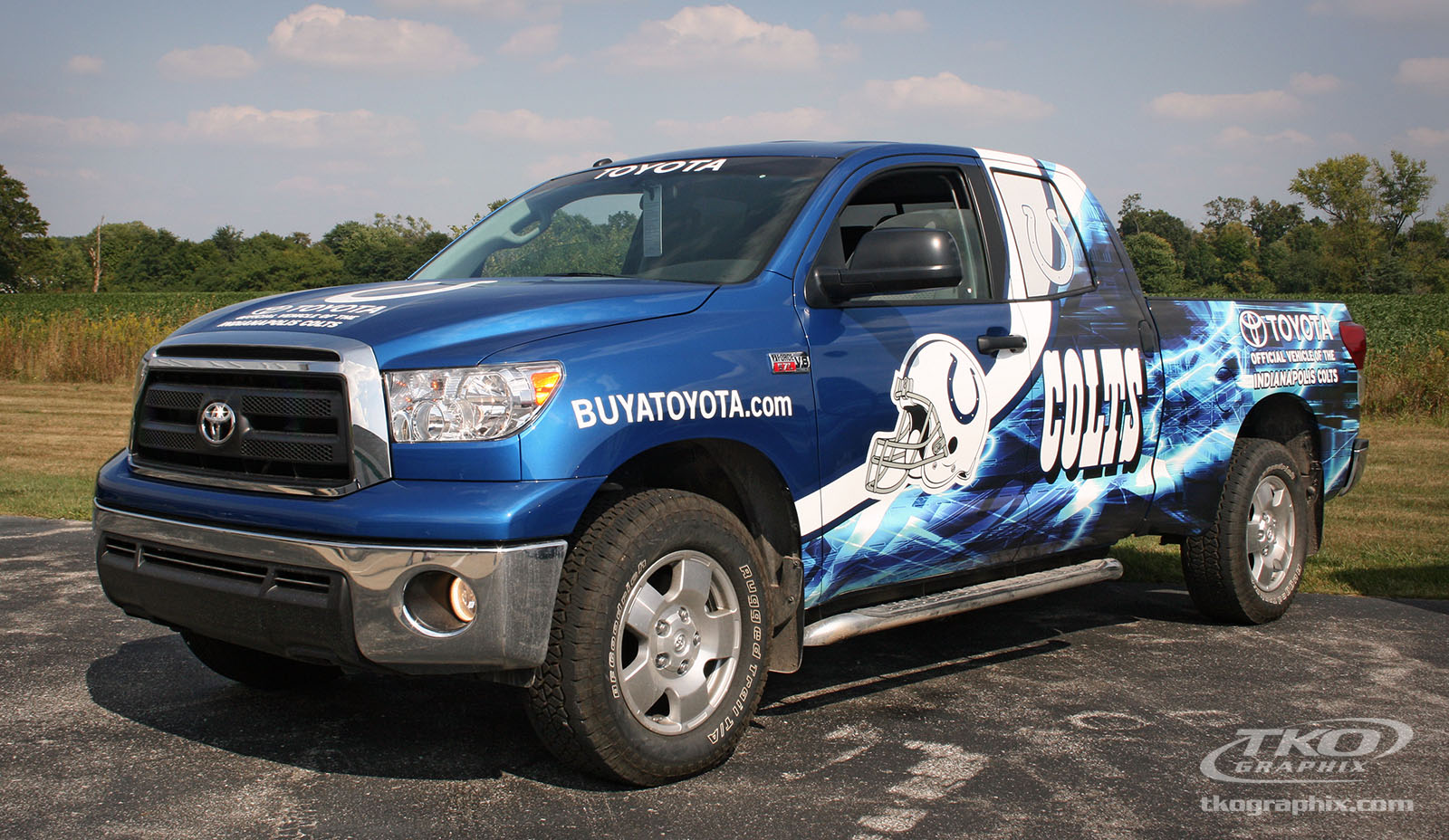 The Colts and Vehicle Graphics