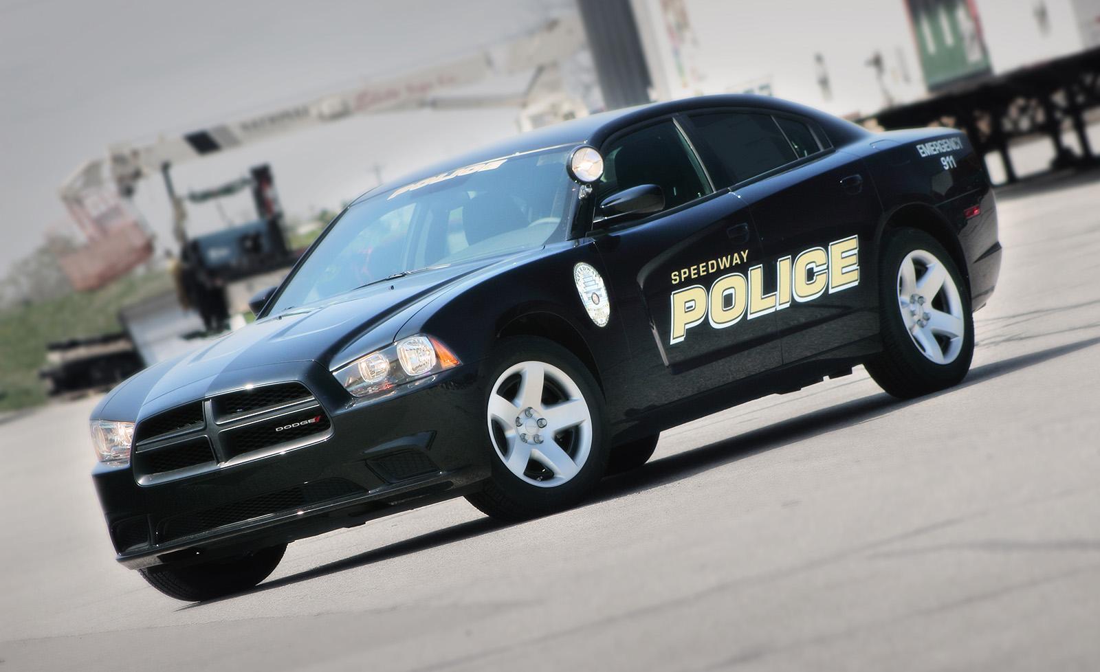 Speedway Police Vehicle Decal Set