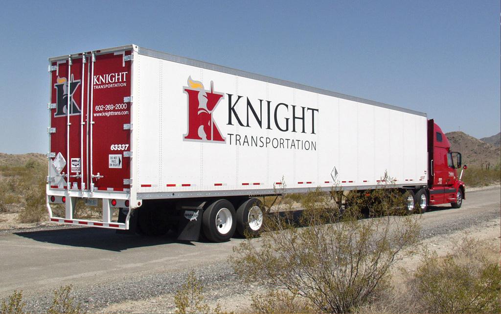 Fleet Wrap and Decal Set - Knight Transportation