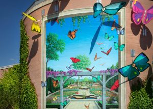 Indianapolis Zoo wall mural by TKO Graphix