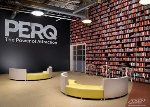 PERQ wall graphics by TKO Graphix Indianapolis