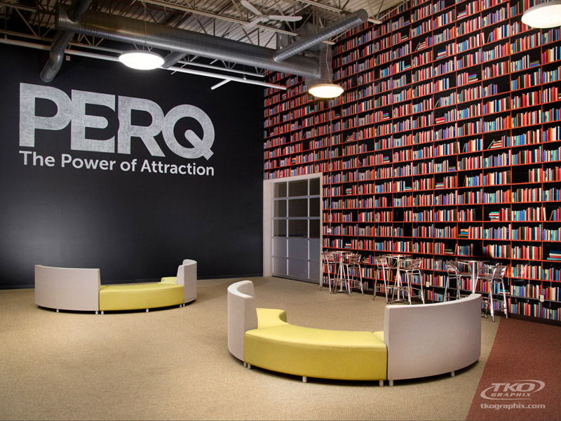 PERQ wall graphics by TKO Graphix Indianapolis