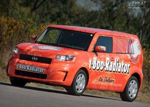 1-800-Radiator SCION car graphics, Indianapolis