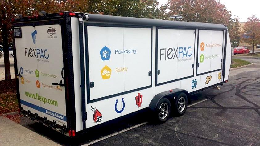 FlexPAC Trailer Wrap