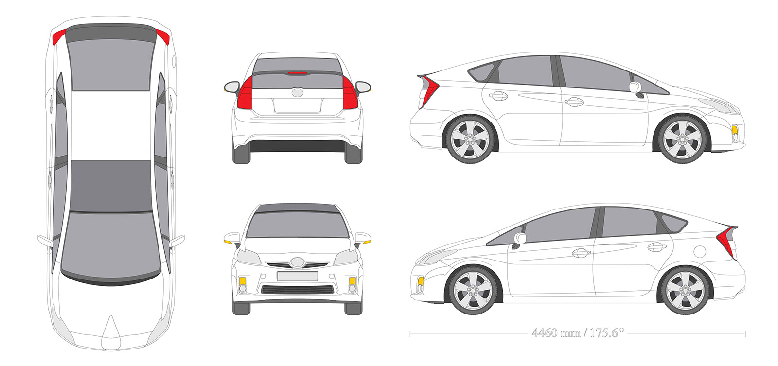 Vehicle Graphic Design layout