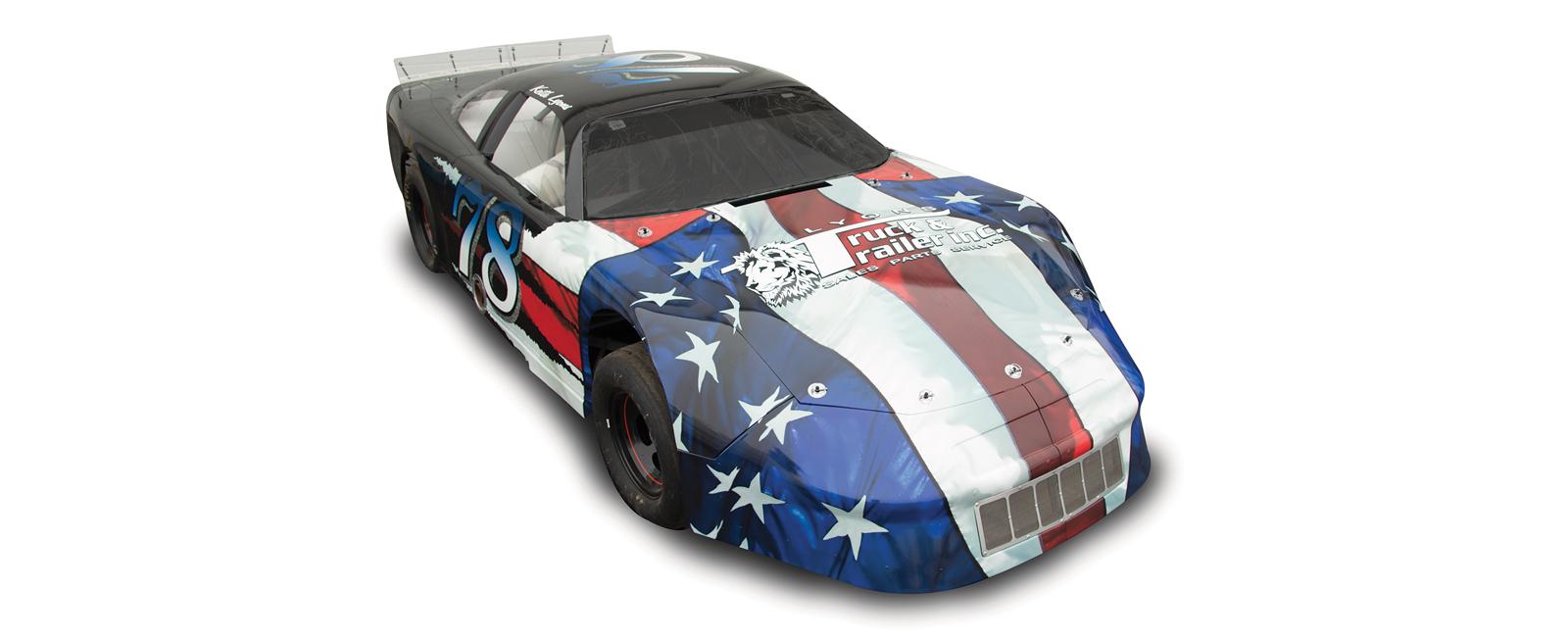 Race CarWrap