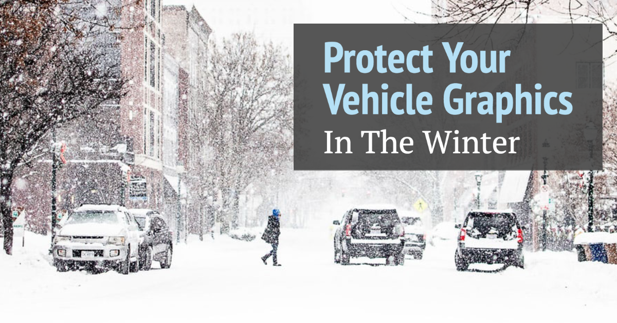 Protect Your Vehicle Graphics in the Winter