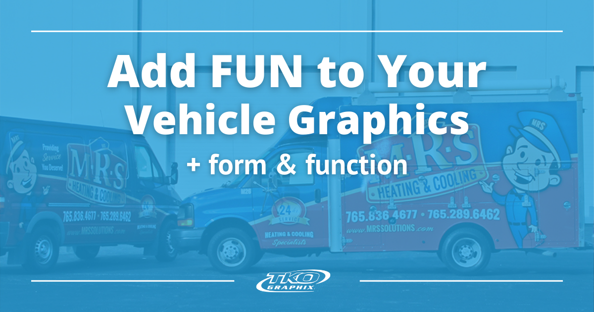 Add fun to your vehicle graphics