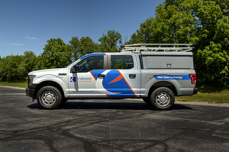 Endeavor Communications Fleet Graphics