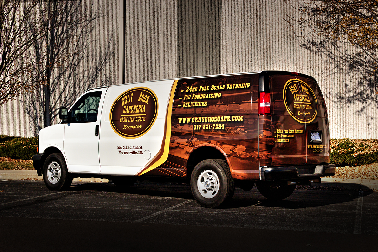 Van Wrap-Gray Brothers