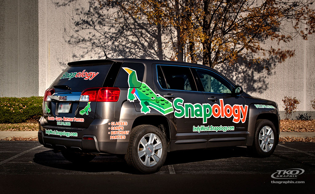 Snapology Vehicle Wrap