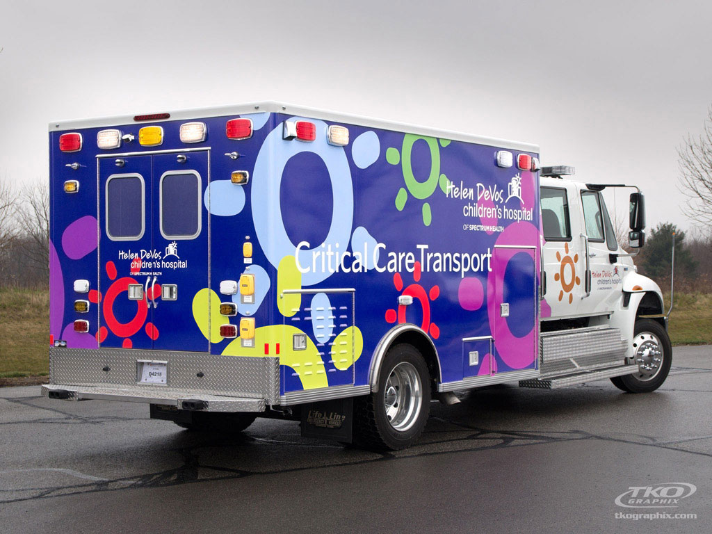 Helen DeVos Children's Hospital Ambulance