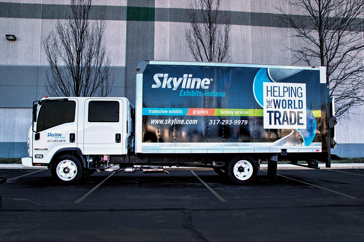 box truck fleet graphics