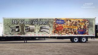 tractor-trailer advertising