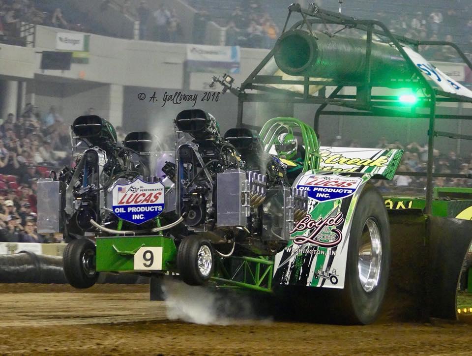 super modified tractor