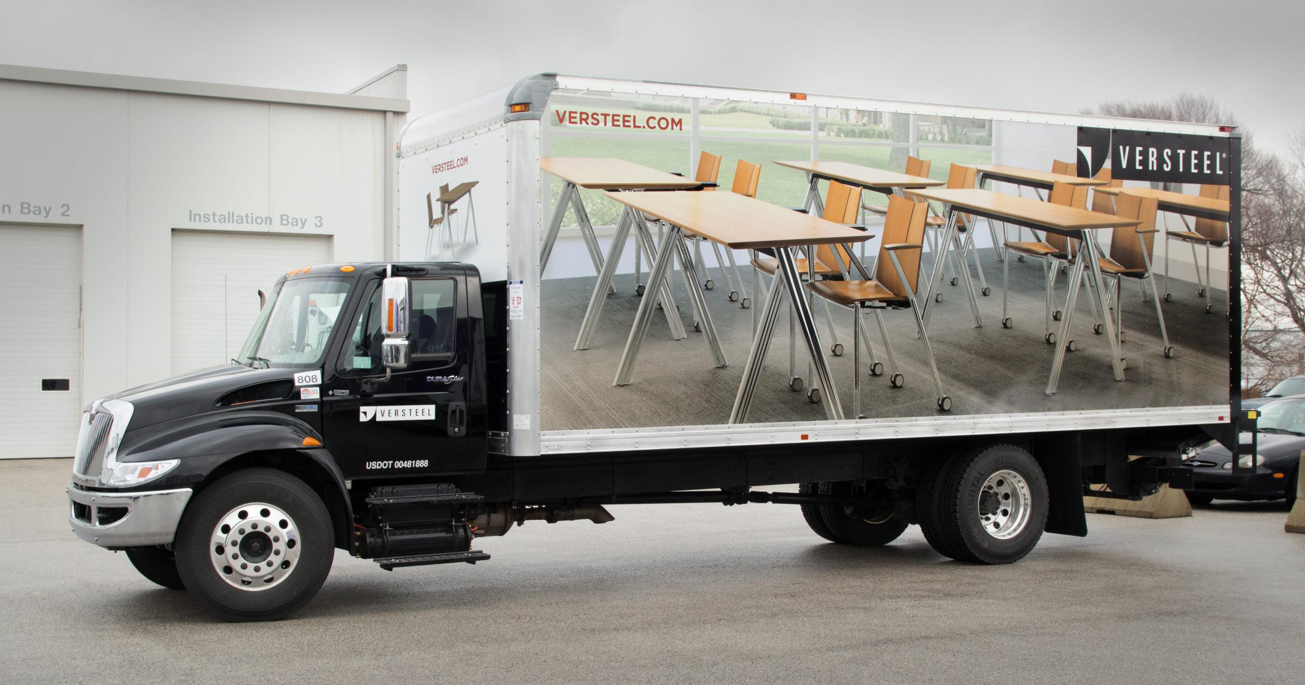 Versteel Box Truck Wrap