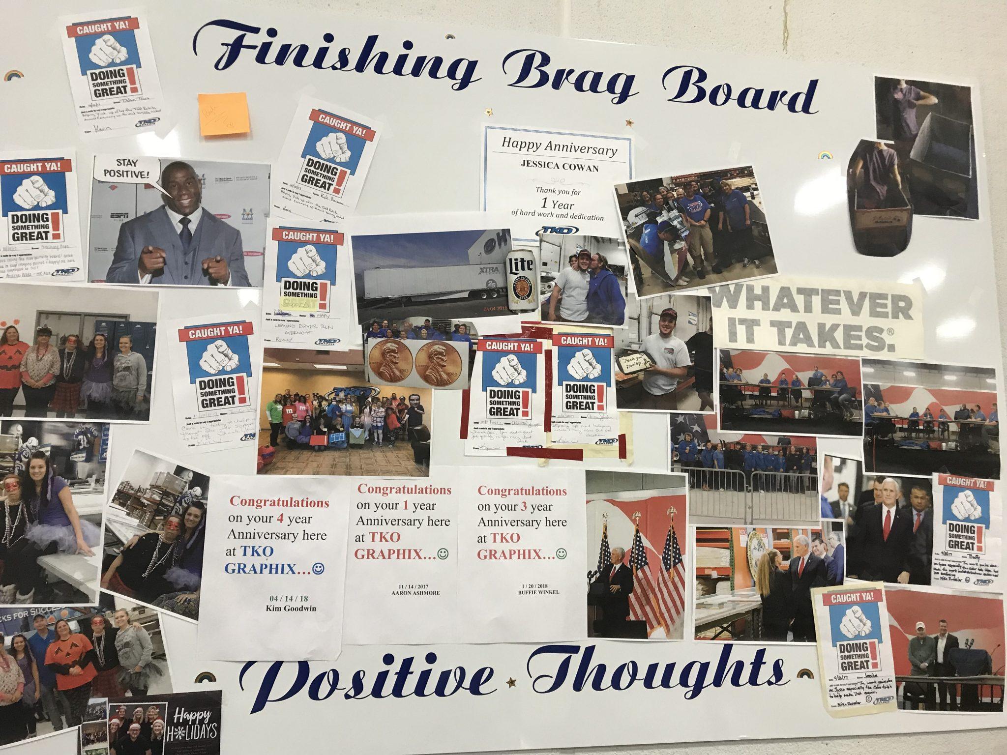 Brag Board