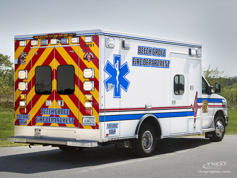 Emergency Vehicle Graphics: Ambulances