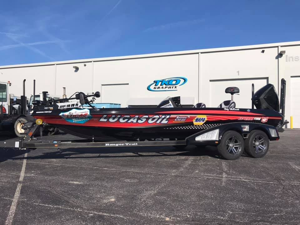 Bill McDonald Pro Angler Truck Wrap