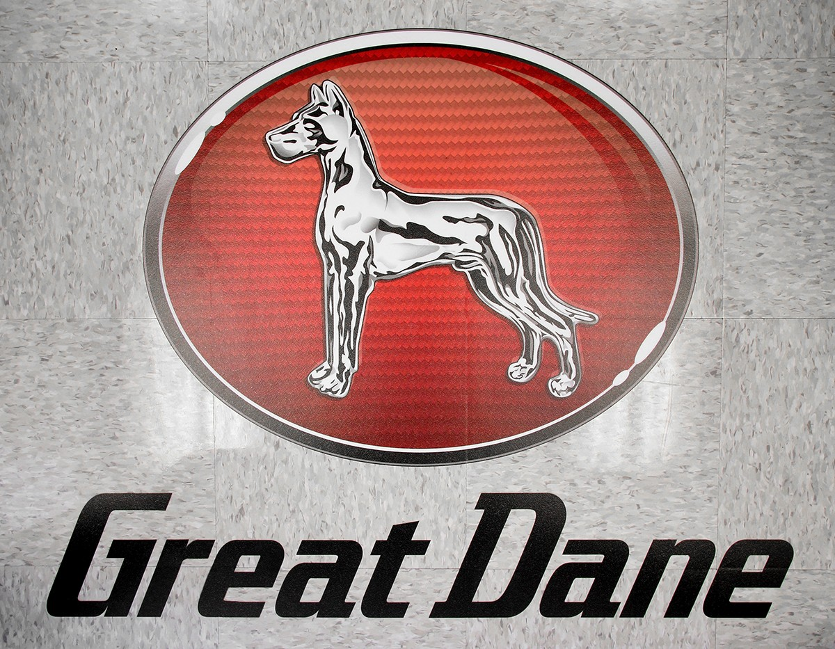Floor Graphic - Great Dane Trailer