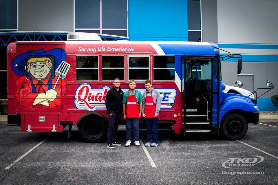 The Quaker Brake food truck