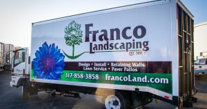 Franco Landscaping Wrap