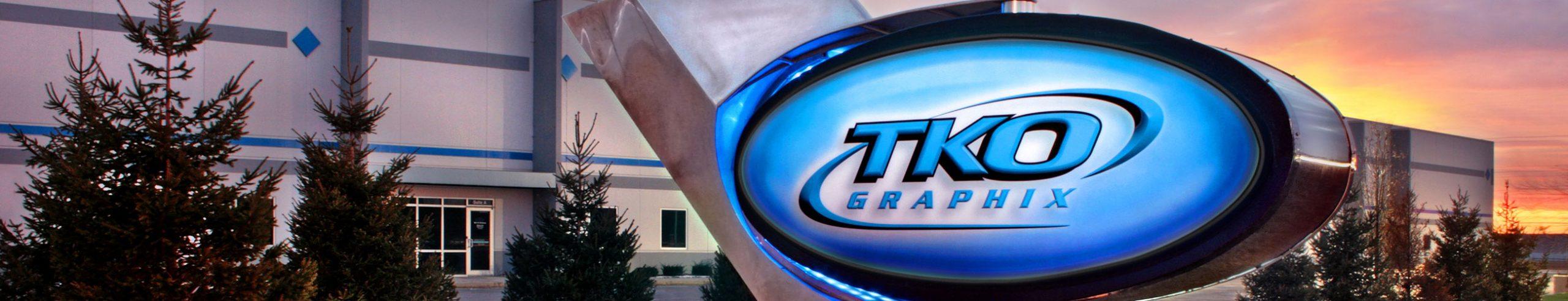 TKO Graphix exterior sign