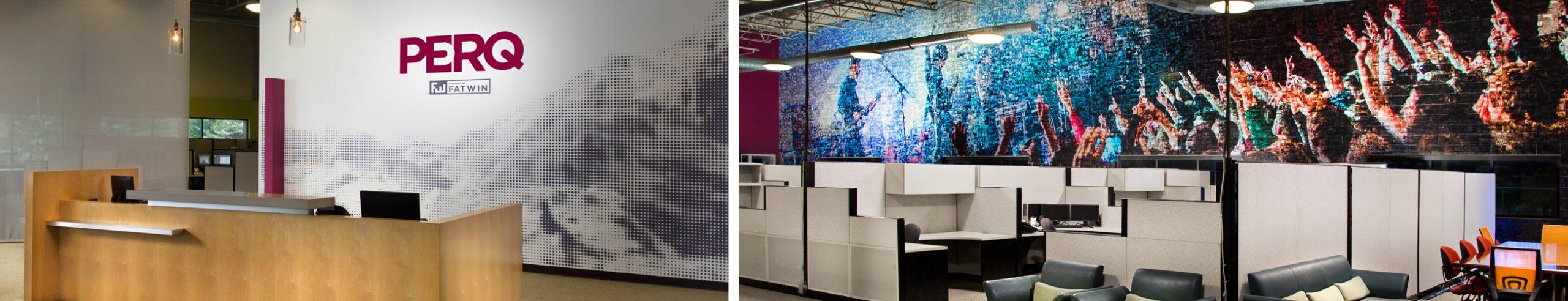 PERQ interior office space
