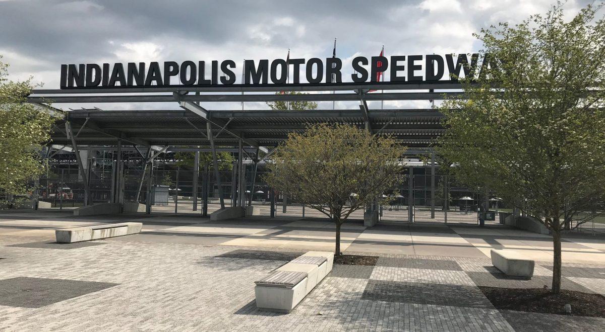 Indianapolis Motor Speedway gate
