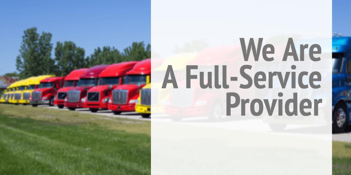 Fleet of Truck Cabs