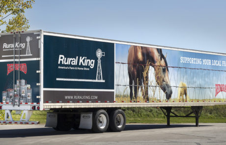 53ft. Trailer with Rural King Graphics Wrap