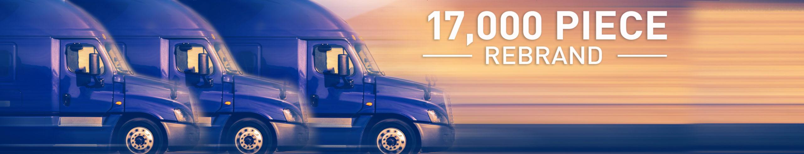 Semi-Tractors - 17,000 Piece Fleet Rebrand