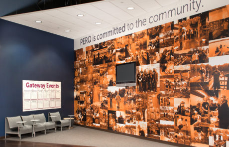 Office Wall Mural Collage of Community Photos