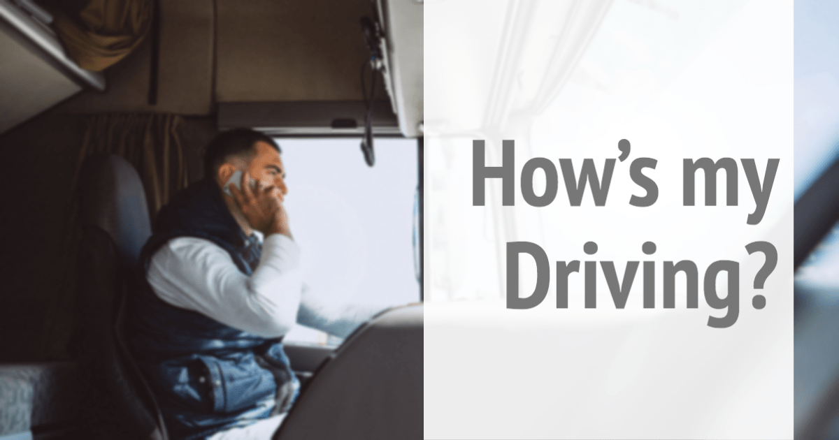 Drivers Damage Your Message - Driver on Cell Phone