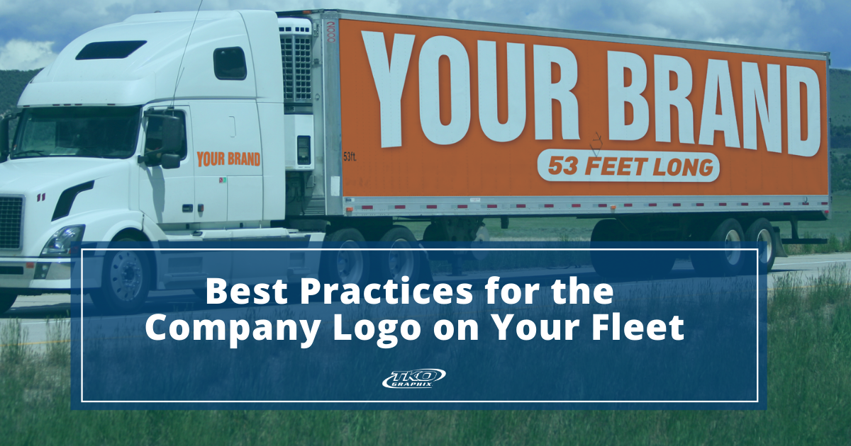 company logo on your fleet