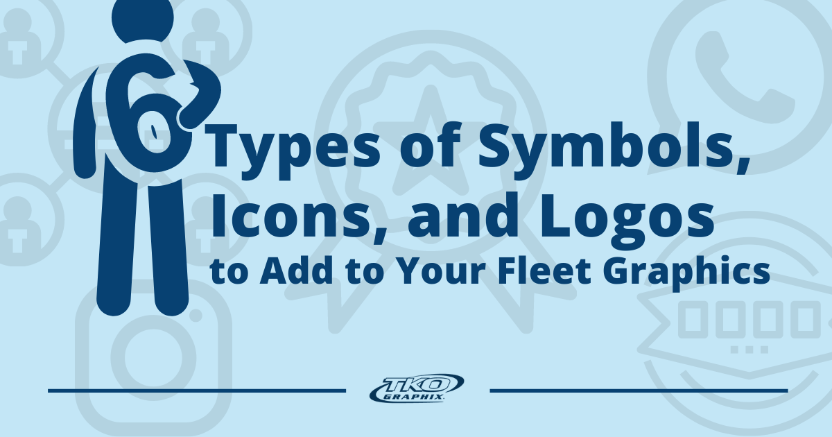 6 Types of Appealing Symbols, Icons, and Logos to Add to Your Fleet Graphics