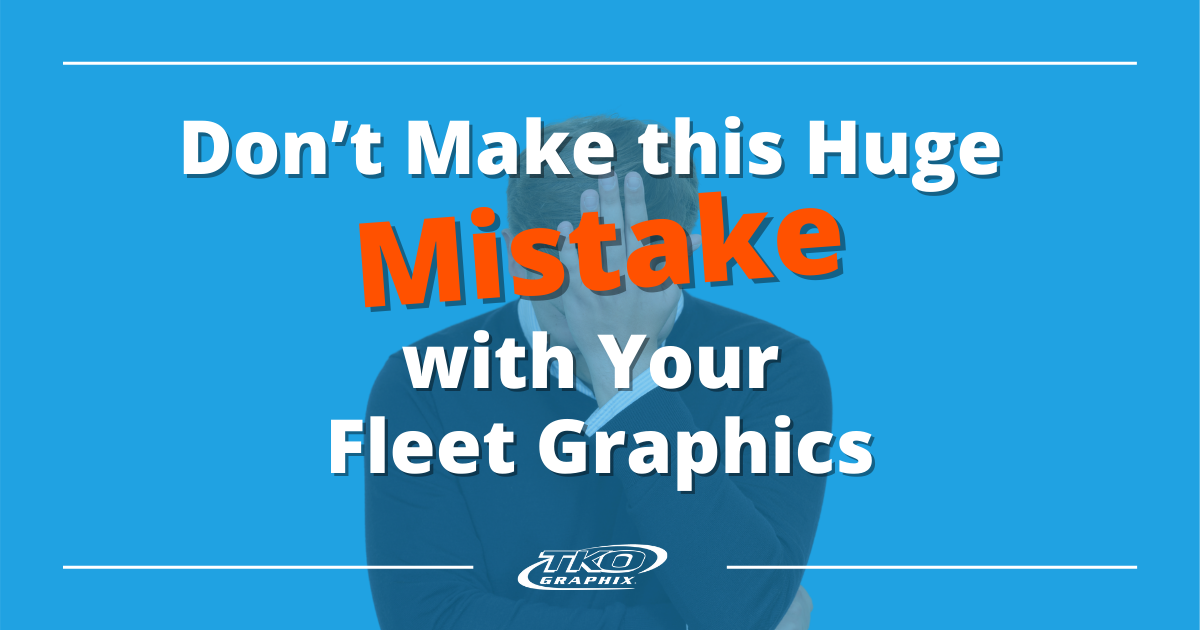 Mistake with your Fleet Graphics